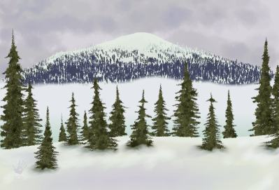 pinetrees - Konifers by Dave