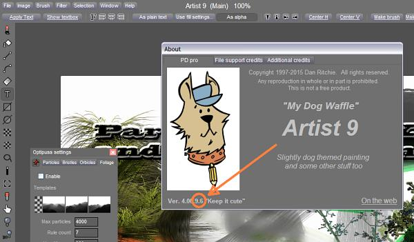 PD                     Artist 9.6 is here