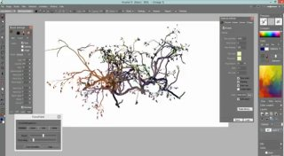 Creating                                                           trees for game                                                           art assets