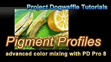 pigment profiles and color mixing