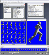 convert                                     image cells from a sprite sheet into                                     an animated sequence for viewing